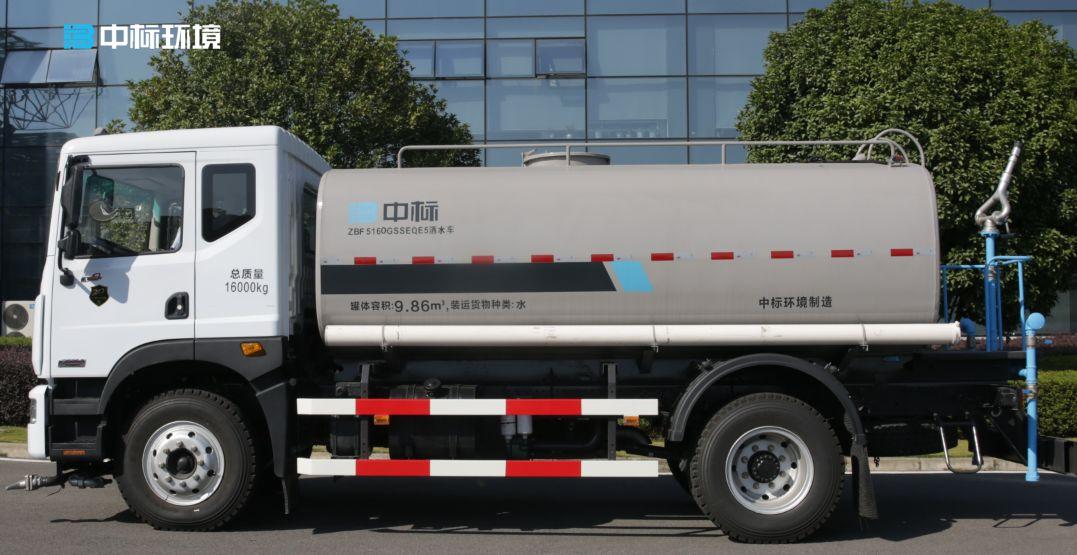 环卫洒水车厂家教你如何处理水箱水垢