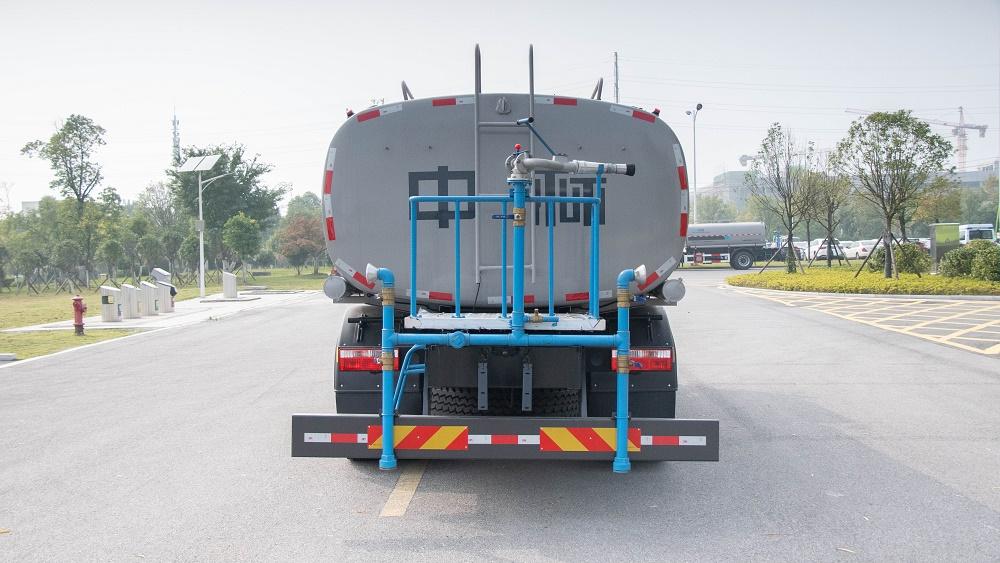 中标16吨环保道路洒水车