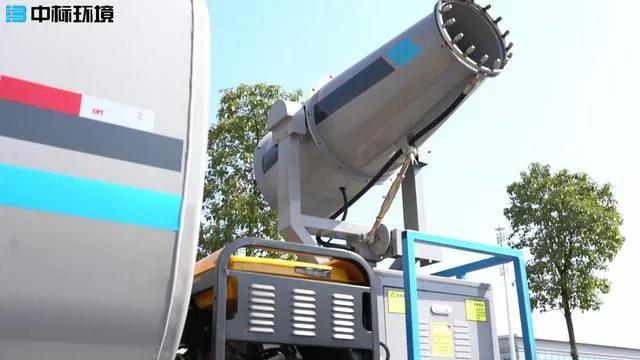 园林绿化洒水车加装雾炮机有什么用?